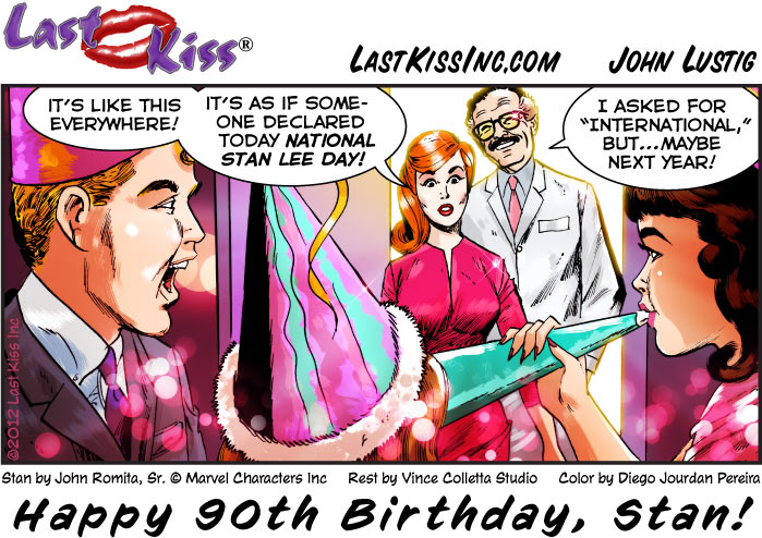 Stan Lee's 90th Birthday: Dec. 28, 2012